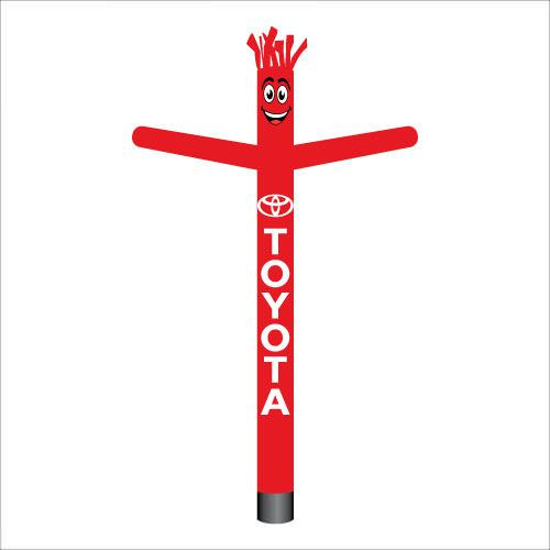 Toyota air dancer inflatable tube man