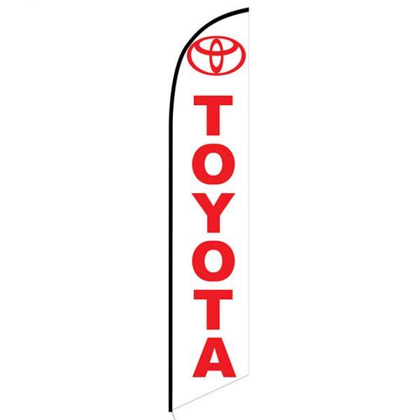 Toyota banner flag