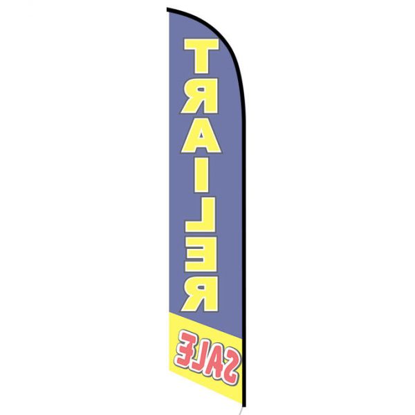 Trailer Sale feather flag