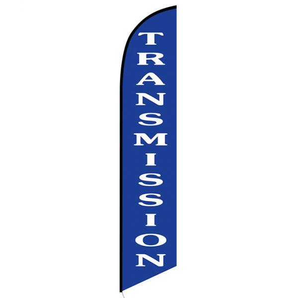 Transmission Blue Banner Flag FFN-5232 front