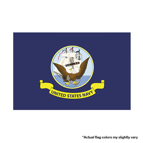 Navy Flag 3x5