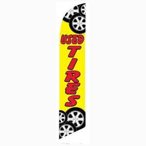 Used-Tires-Feather-Flag-NSFB-5020B-NSF-1418