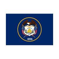 Utah State 3×5 flag