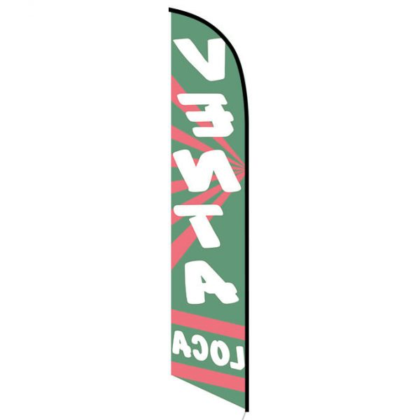 Venta Loca feather flag
