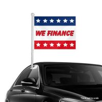 We Finance Window Clip-on Flags