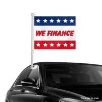 We Finance Window Clip-on Flags