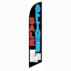 Appliances Sale feather flag as your outdoor advertising low-cost banner