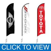 Auto Brand Dealership Flags