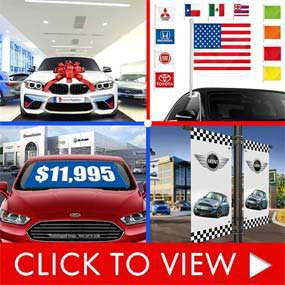 Auto dealer supplies - stock items