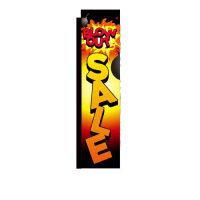 Blow-out Sale Rectangle Banner Flag