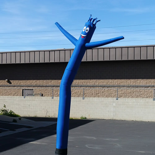 Blue Inflatable Tube Man Air Dancer