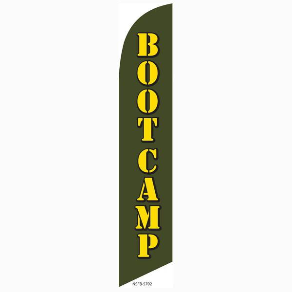 Increase enrollment this new year with our Bootcamp feather flag