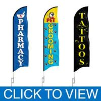Business (retail & more) Feather Flags in Stock