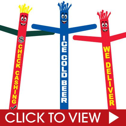 Air Dancers for businesses -stock inflatable tube man