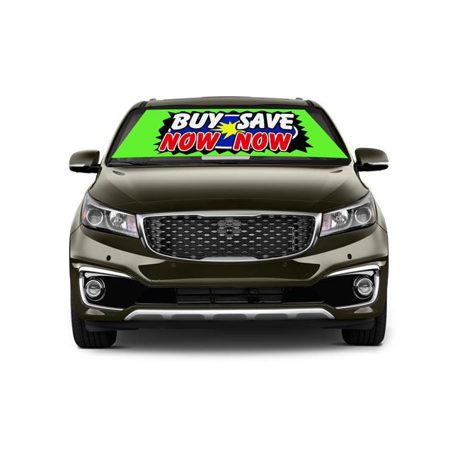 car-windshield-banner