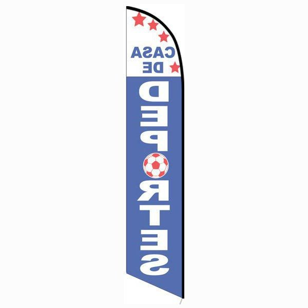 Casa de Deportes feather flag