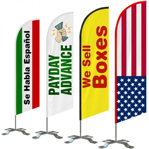 custom-feather-flags