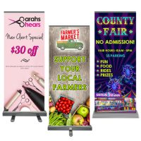 Roll-up Retractable Banner 48″ x 80″