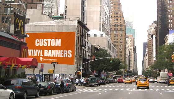 Advertising Custom Vinyl Banners