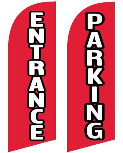 entrance-and-parking-feather-flag-small
