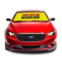 Custom Car Windshield | aka Bucko Banners