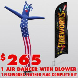 Fireworks Air Dancer Package