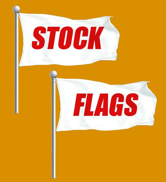 Stock 3x5 Flags