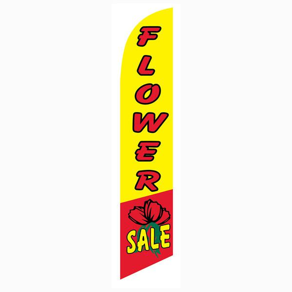 Flower Sale banner flag for all florist shops that want to increase sales
