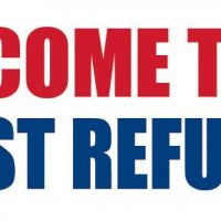 Income Tax Fast Refund Sign Banner 4X8