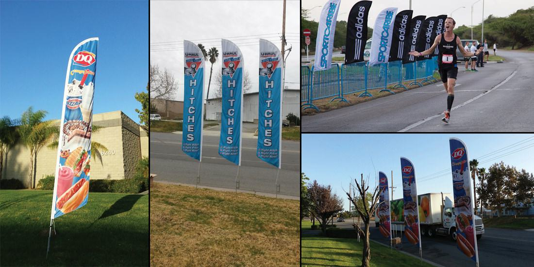 Custom Feather Flag Banners