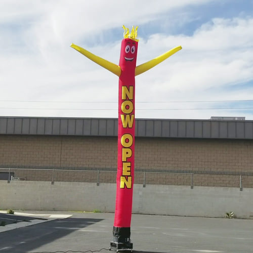 Now Open Inflatable Tube Man air dancer