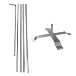 Pole + Cross Base