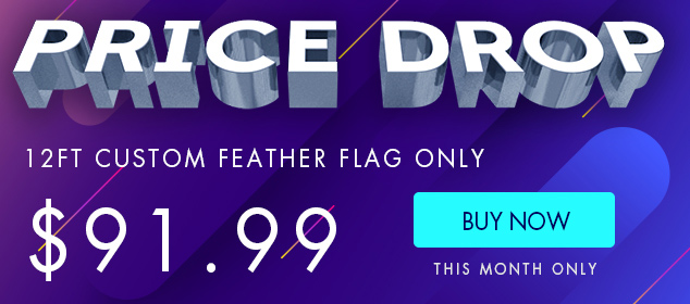 9be996a8e6360 Feather Flags & Feather Banners | 30% OFF, Same Day Free Shipping