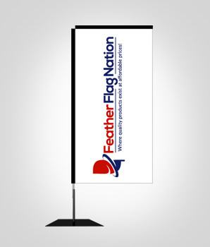 rectangle-banner-flag-with-flat-base