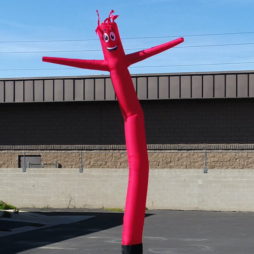 Red Inflatable Tube Man air powered dancer