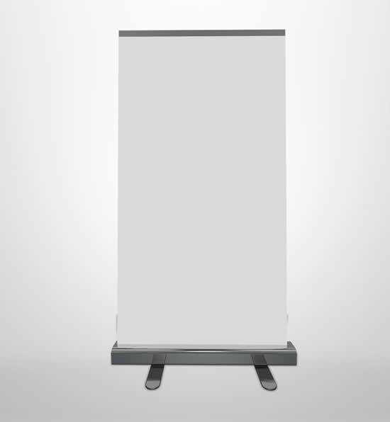 Economy Roll-up Banner Stand