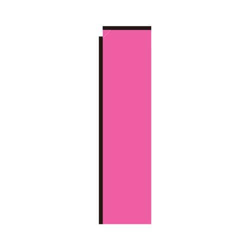 Pink Rectangle Flag