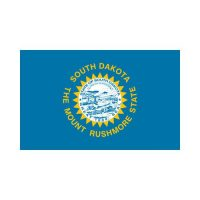 South Dakota State 3×5 flag
