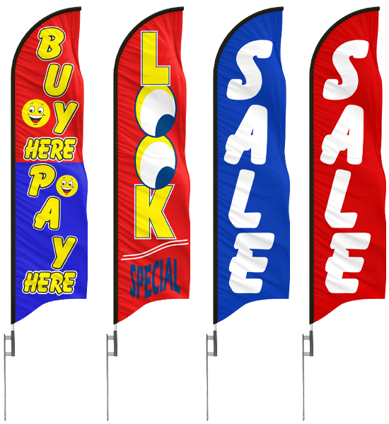 stock-feather-flags-advertising-banners