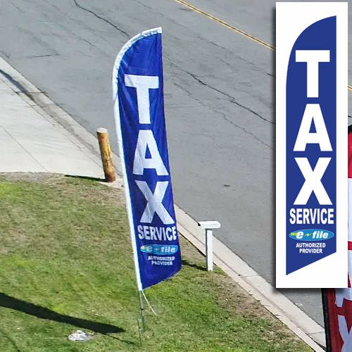 Tax Service Advertising Flag