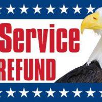 Tax Service Fast Refund Sign Banner 4X8
