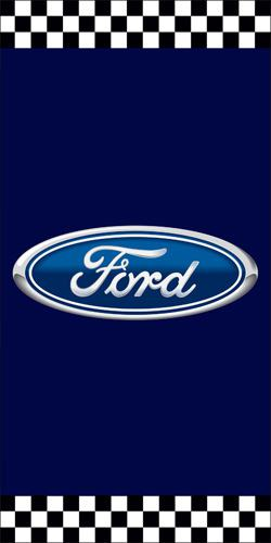 Sample Ford avenue banner for branded dealership