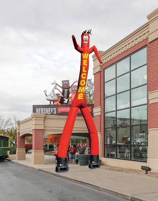 2 Legged Air Inflatable Tube Man Dancer